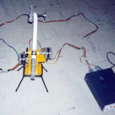 Computer Controlled 2-DOF Planar Robot