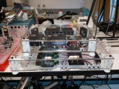 Control and DAQ Modules for Robotic Assisted Surgical System (HeroSurg)