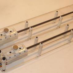 Modular 1-DOF Force Feedback Enabled Laparoscopic Instrument